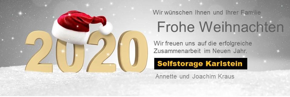 Selfstorage Karlstein wünscht frohe Weihnachten