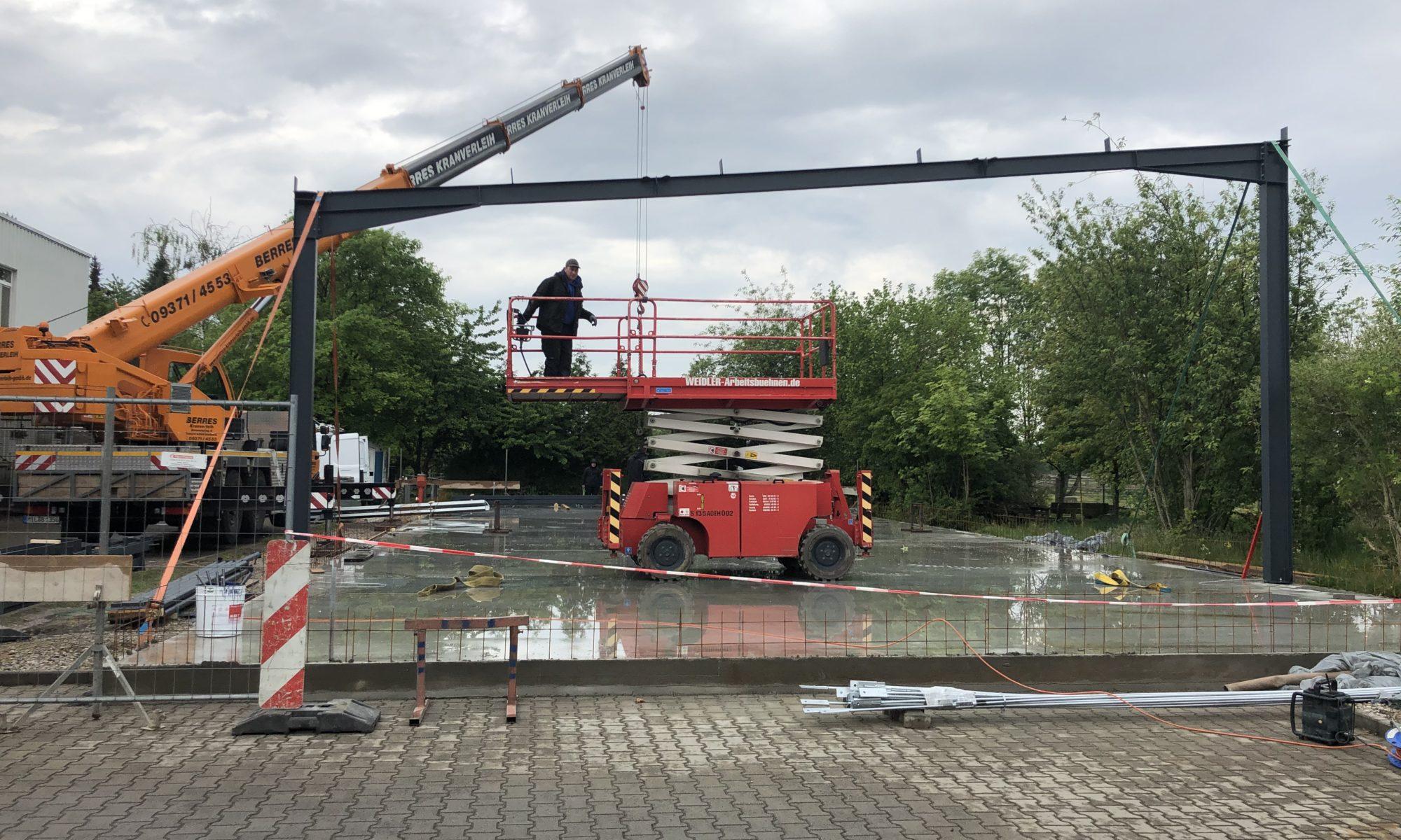 Baustelle Lager Alzenau